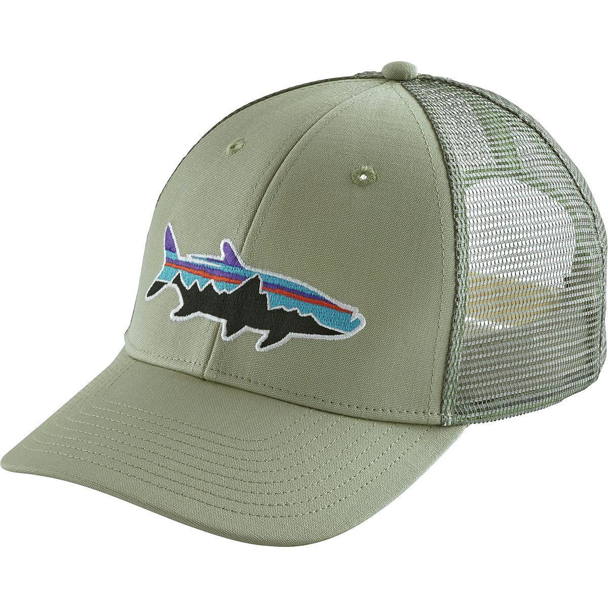 2343c340 Lyst - Patagonia Fitz Roy Tarpon Lopro Trucker Hat in Green for Men