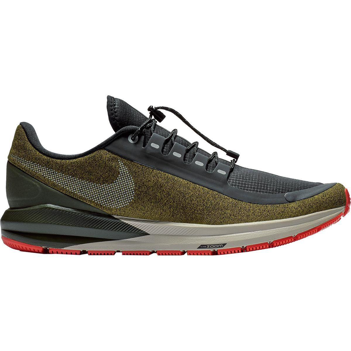 ae775485595 Lyst - Nike Air Zoom Structure 22 Shield Running Shoe in Black for Men
