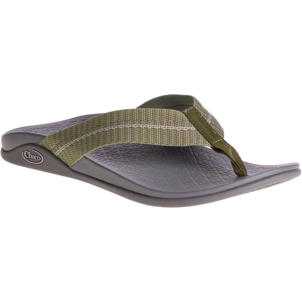 d0baffc22 Lyst - Chaco Waypoint Cloud Flip Flop in Green for Men