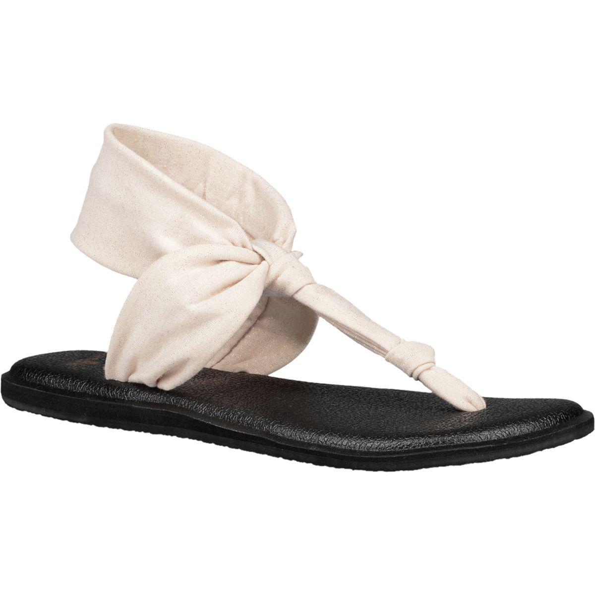 123423225 Sanuk - Yoga Sling Ella Metallic Sandal - Lyst. View fullscreen