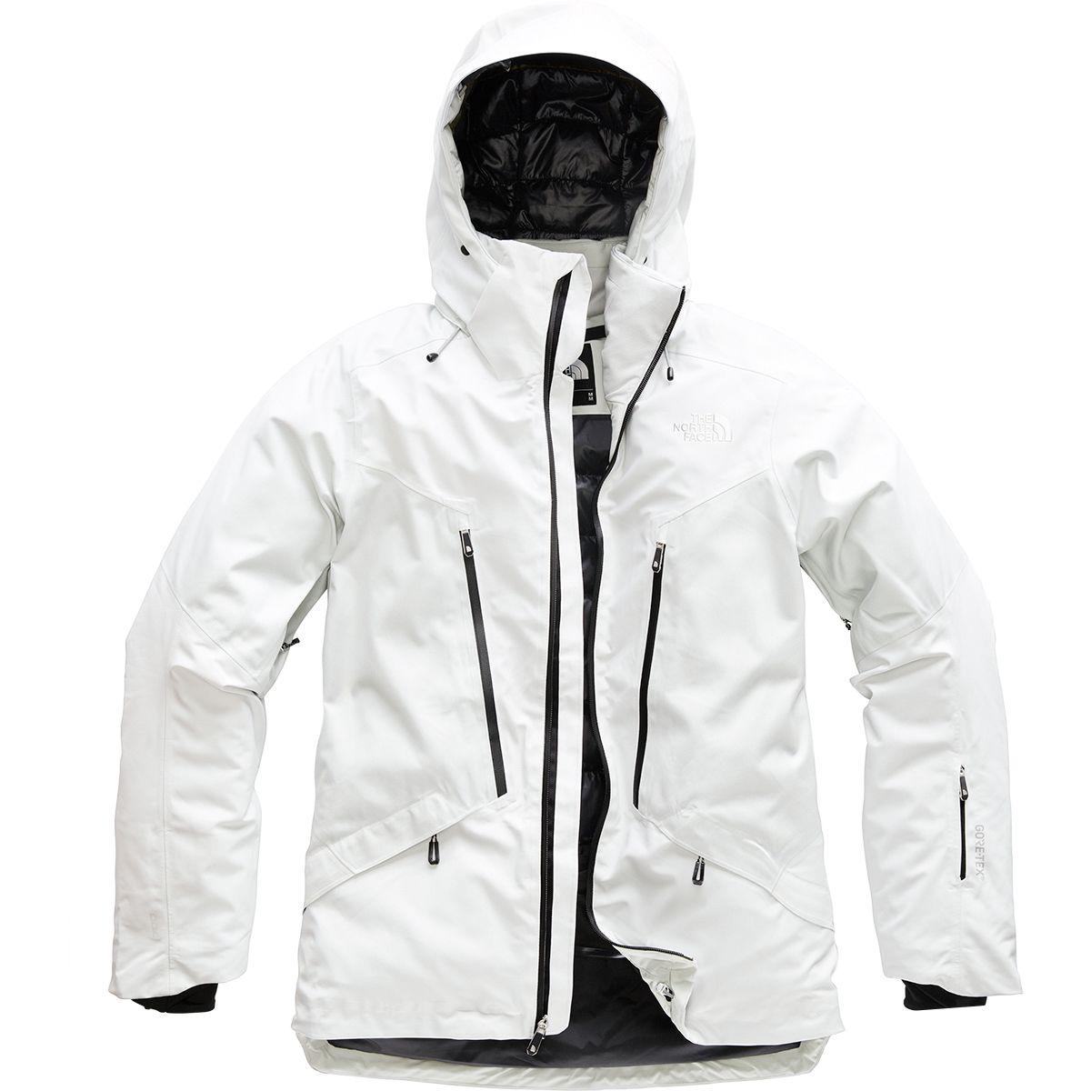 Lyst - The North Face Diameter Down Hybrid Hooded Jacket in Gray for Men 67ac340ec