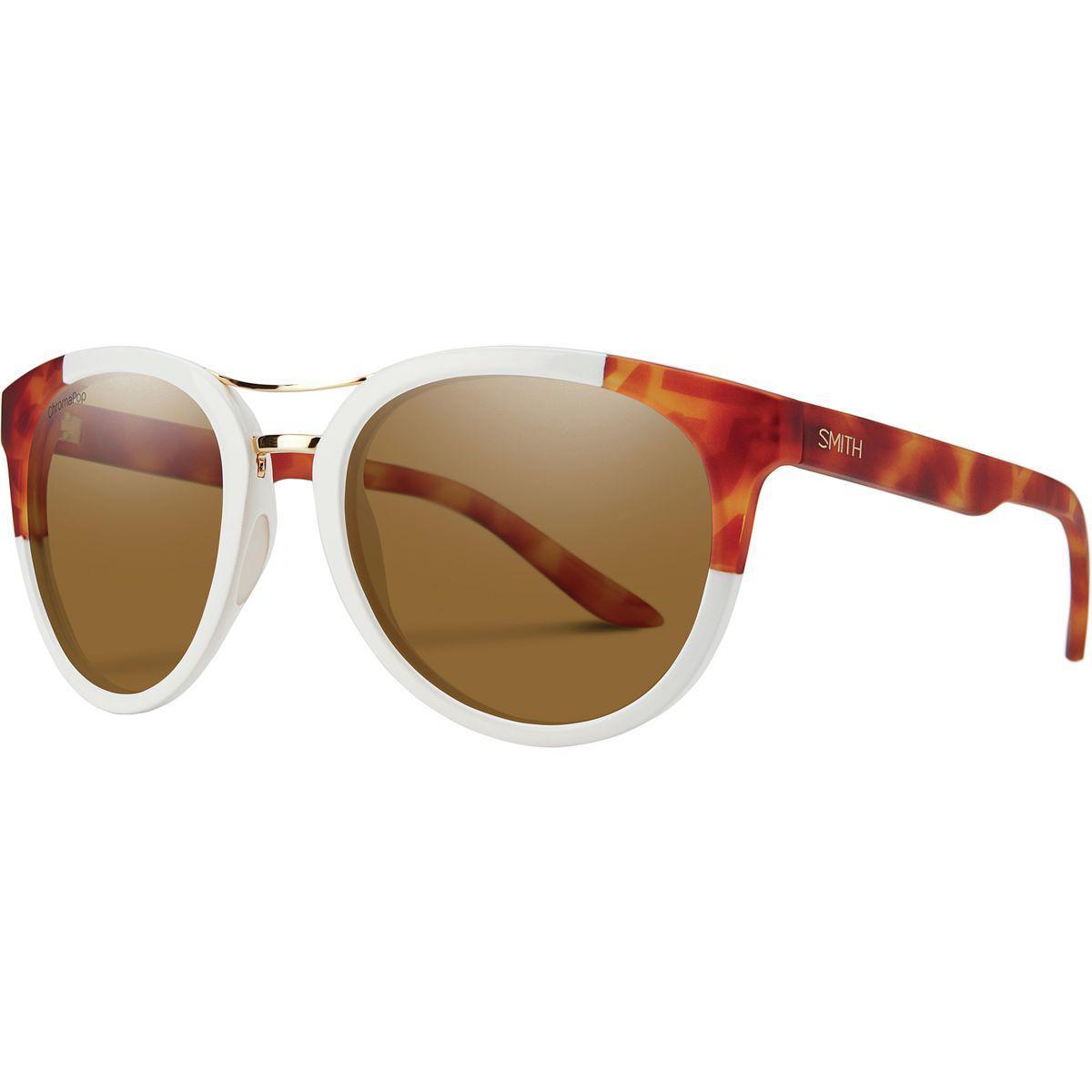 3e16a3b860a Lyst - Smith Bridgetown Chromapop Polarized Sunglasses in Brown