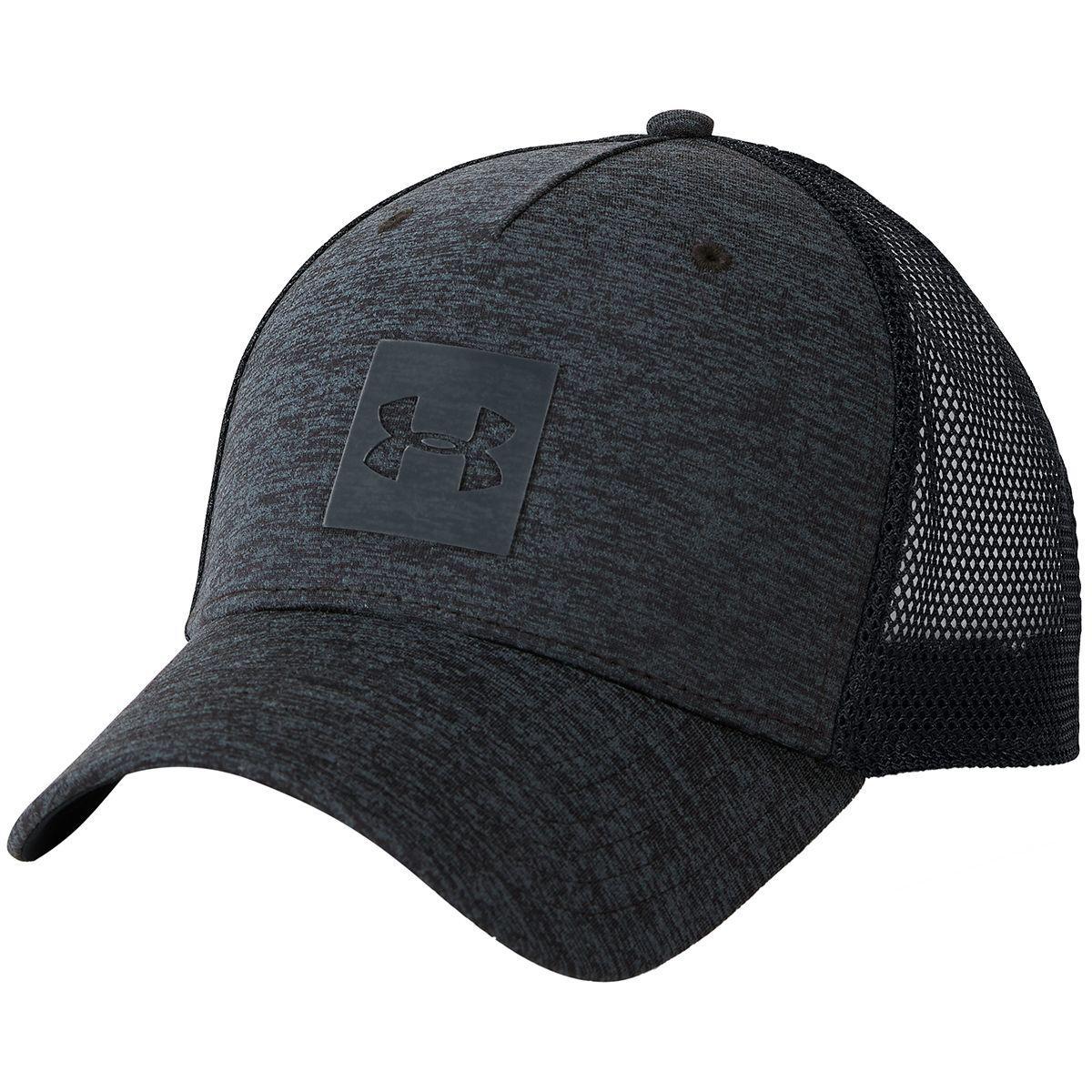 half off 2a741 b1b20 Lyst - Under Armour Twist Closer Trucker Hat in Black for Men