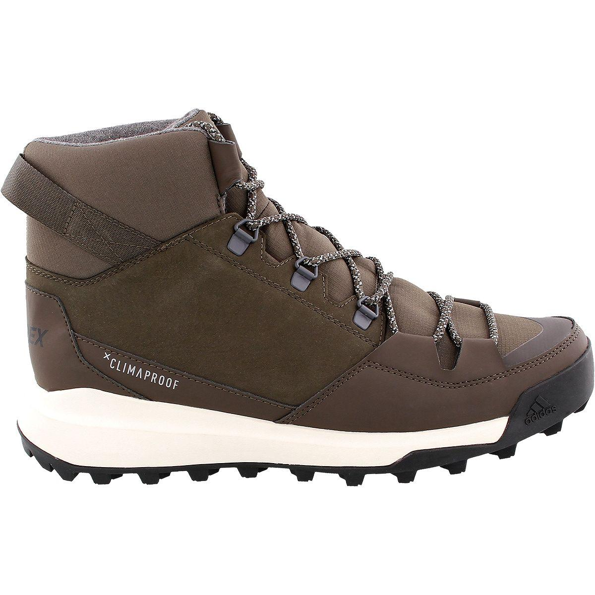 5e2c60b041d6e4 Lyst - adidas Originals Cw Winterpitch Mid Cp Leather Boot in Brown ...