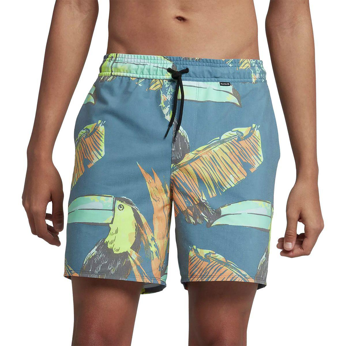 b8c558afb4 Lyst - Hurley Paradise Volley 17in Short in Blue for Men