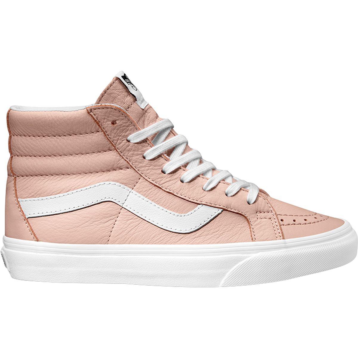 fbe1bc37df Lyst - Vans Sk8-hi Reissue Shoe in Pink