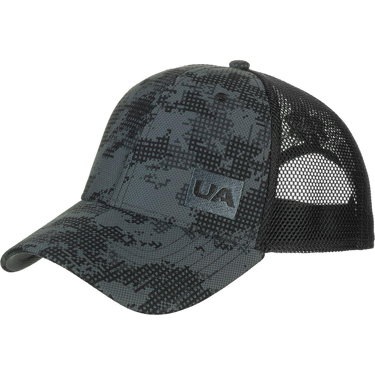 c21ba72b3fa96 Lyst - Under Armour Blitzing 3.0 Trucker Hat in Black for Men