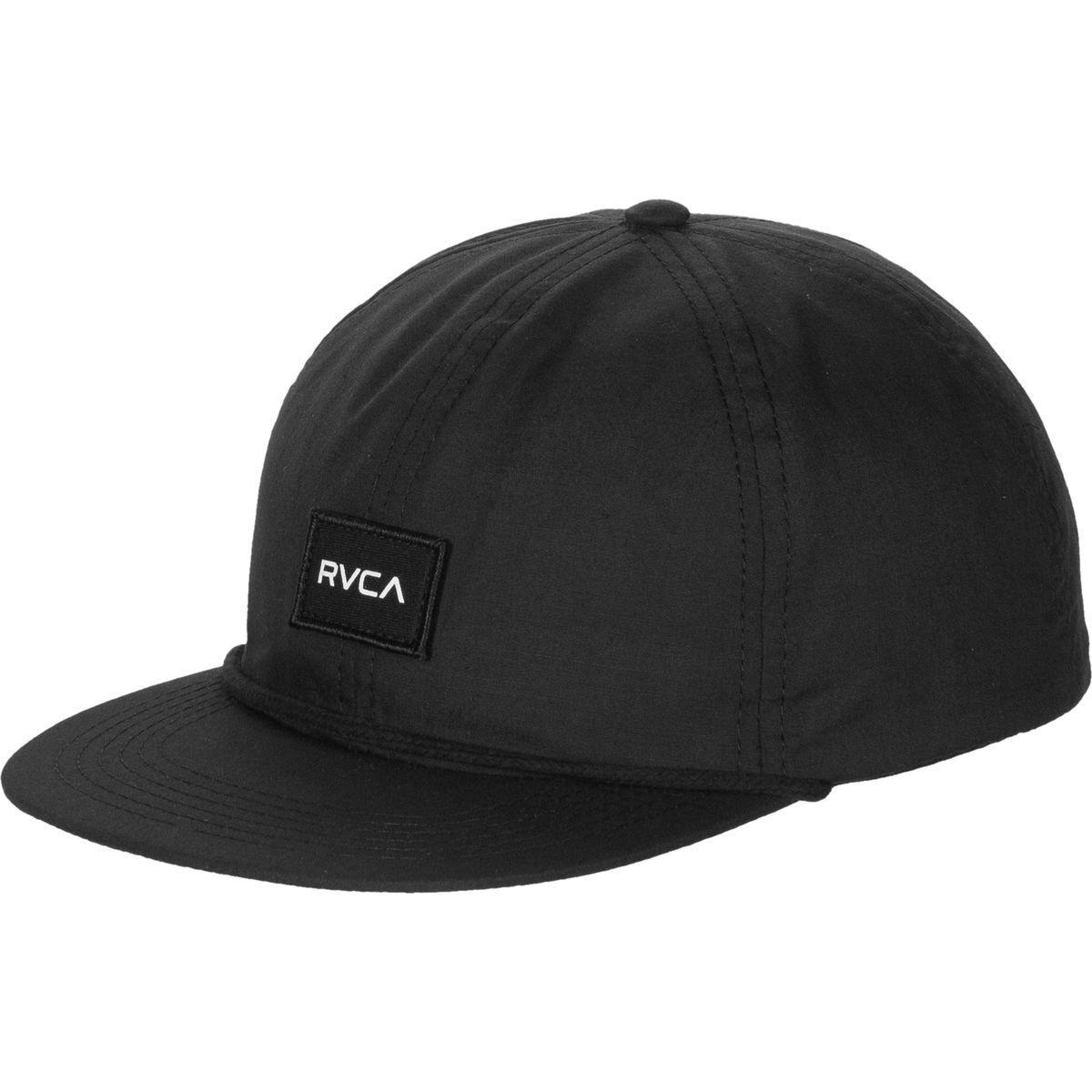 Lyst - RVCA Curren Caples Cap in Black for Men 3da2cbfdadba