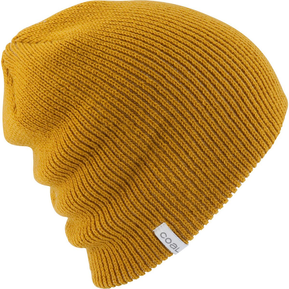 Lyst - Coal Frena Solid Beanie in Yellow 43affdbc6e2