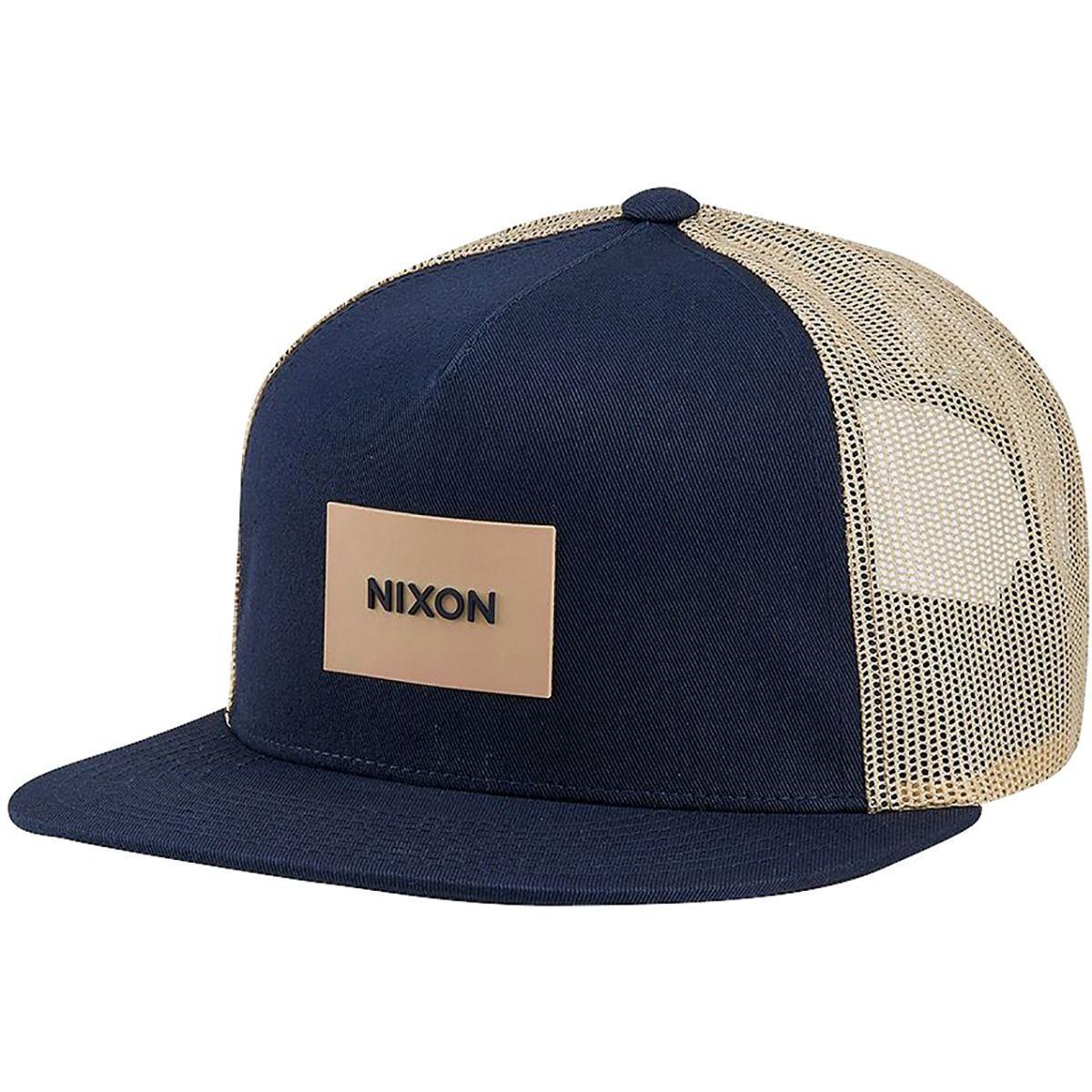 679bed9478f Lyst - Nixon Team Trucker Hat in Blue for Men