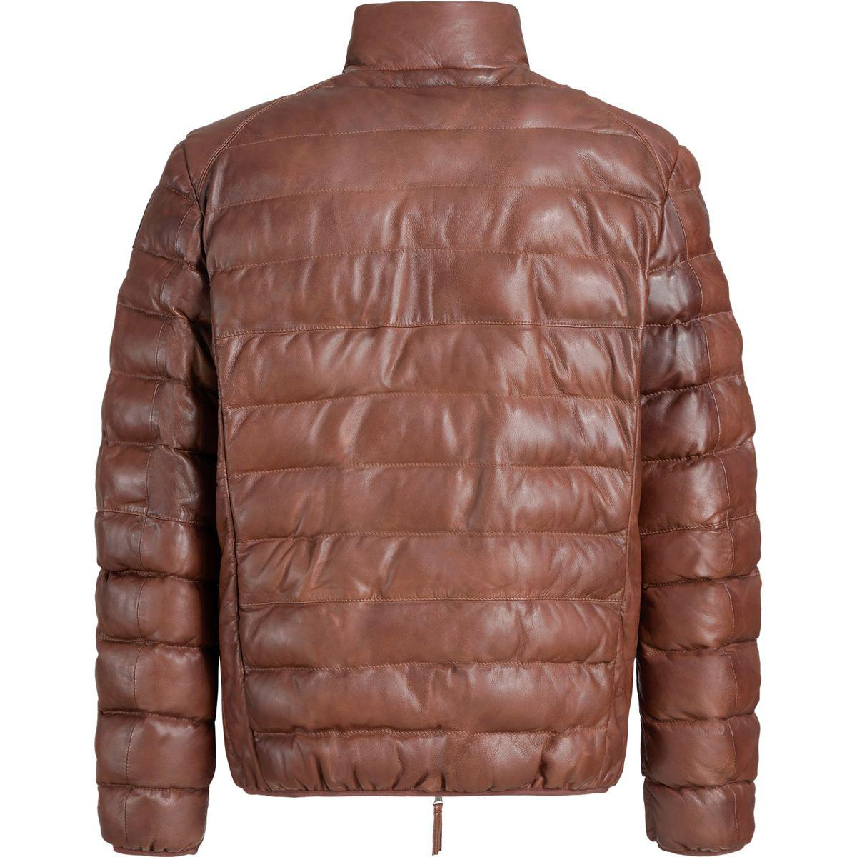parajumpers leather jacket