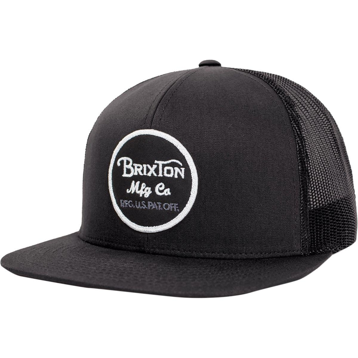 c1fd5a18469 Brixton - Black Wheeler Mesh Cap for Men - Lyst. View fullscreen