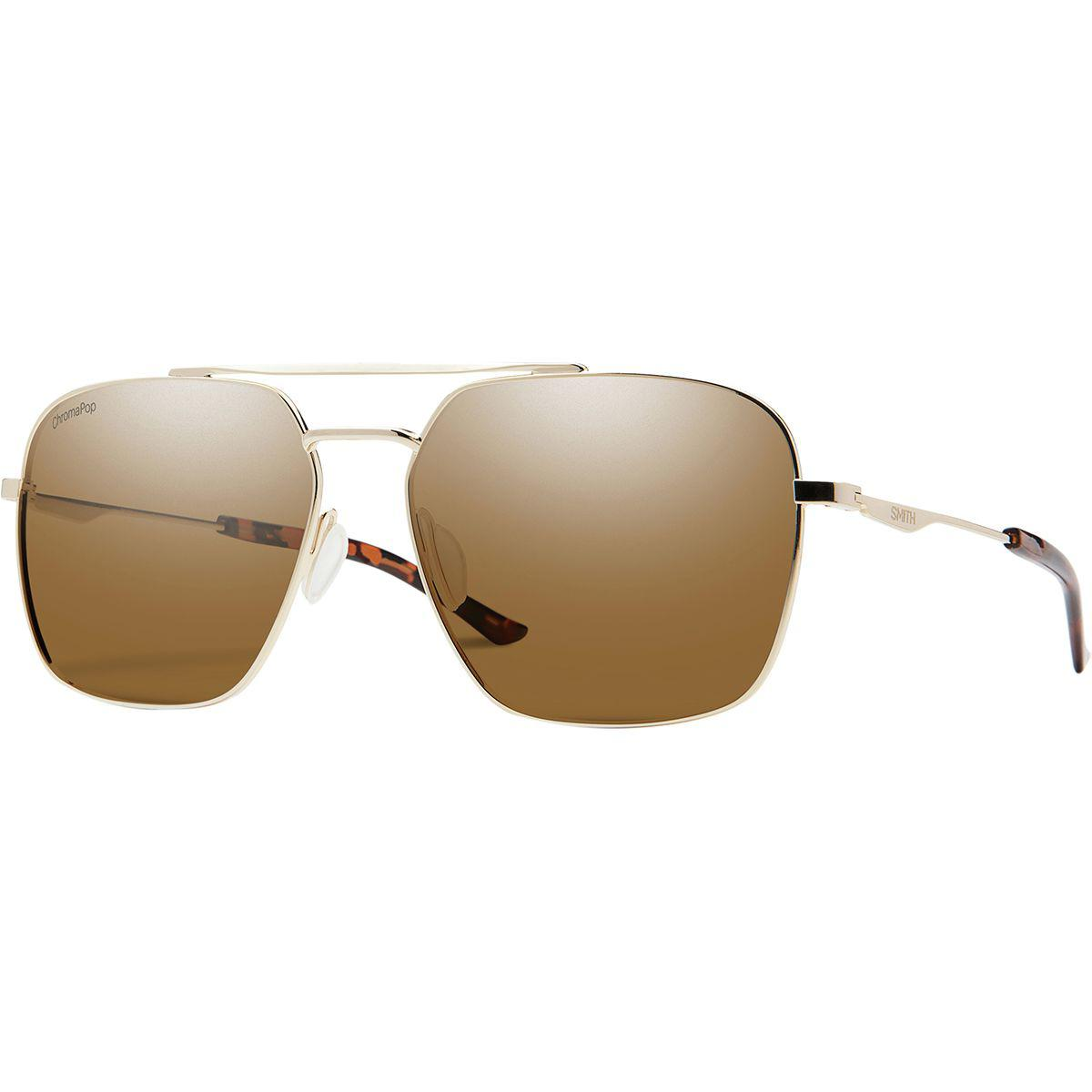 d49c16ea5f9 Lyst - Smith Double Down Chromapop Polarized Sunglasses in Brown for Men