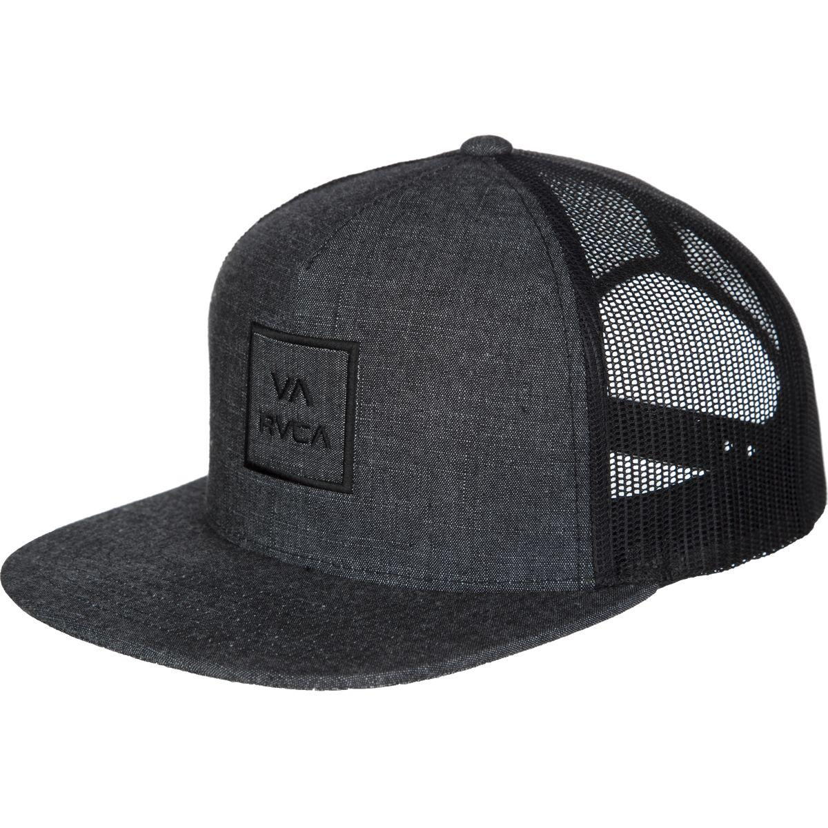ac081b97713b2 RVCA Va All The Way Iii Trucker Hat in Black for Men - Lyst