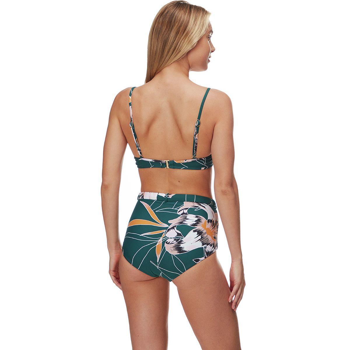 06452d5aa677a Seafolly - Green Aralia Belted Hi-waist Bikini Bottom - Lyst. View  fullscreen