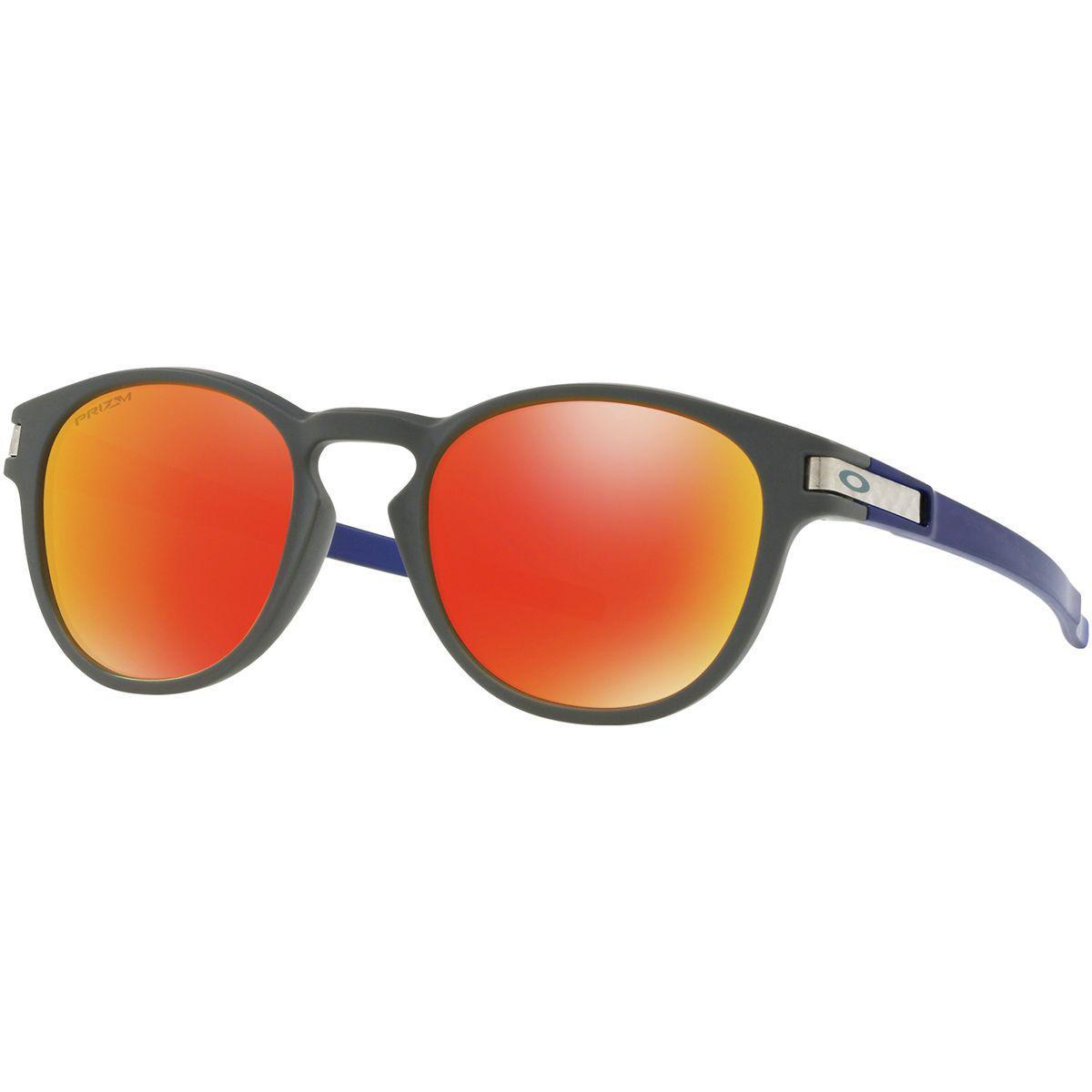 0578d39e1c Lyst - Oakley Latch Prizm Sunglasses for Men