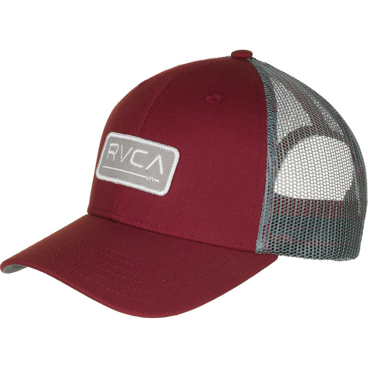 637ea890bac18 ... australia lyst rvca ticket trucker hat in red for men a265b 1cfeb