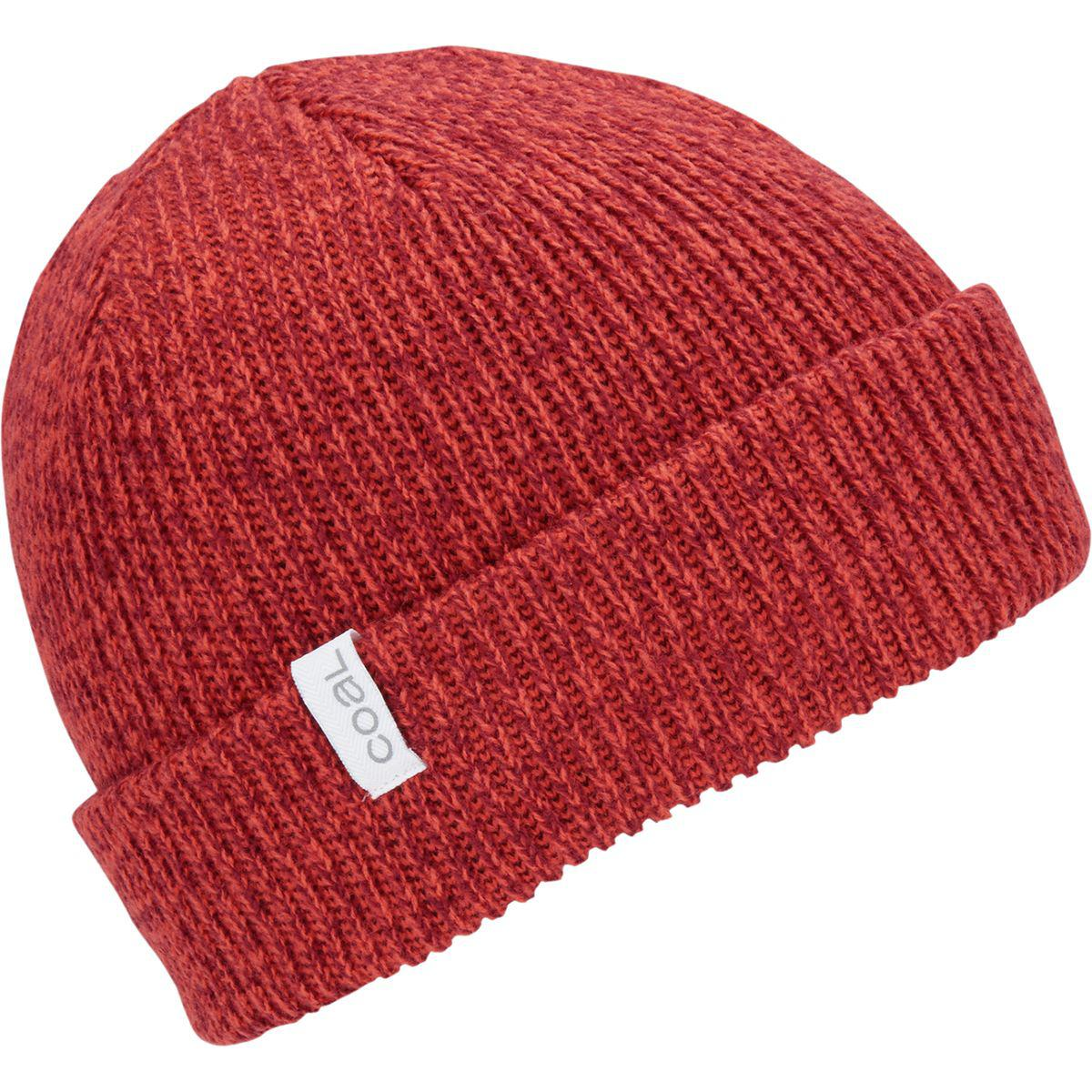 107e24b141ad9 Lyst - Coal Frena Solid Beanie in Red for Men