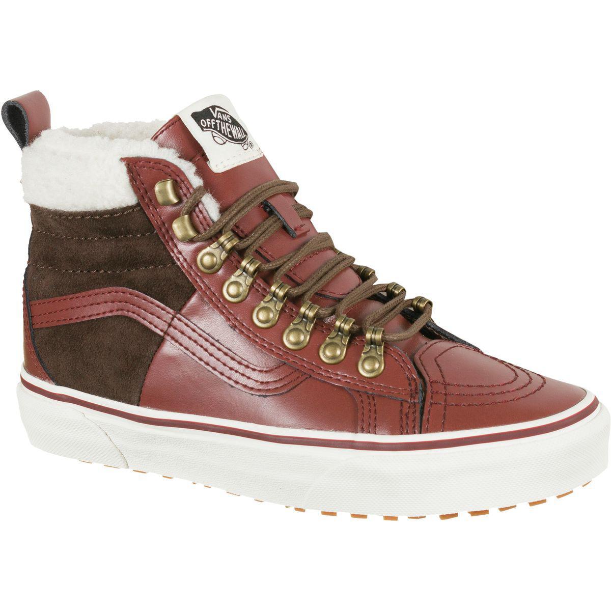 8e3820fd1723fa Lyst - Vans U Sk8-hi 46 Mte Dx Boot in Brown