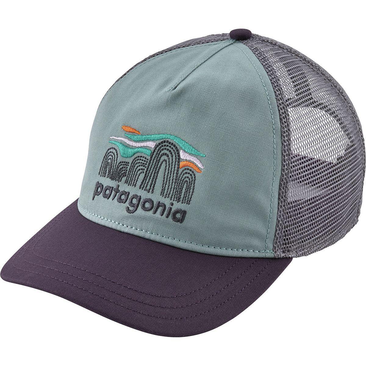 3634d7ce60b Patagonia - Blue Fitz Roy Boulders Layback Trucker Hat - Lyst. View  fullscreen
