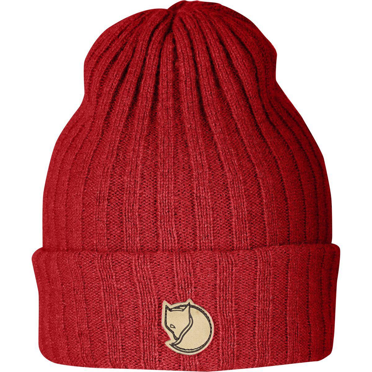 Lyst - Fjallraven Byron Hat in Red for Men 88013486470e
