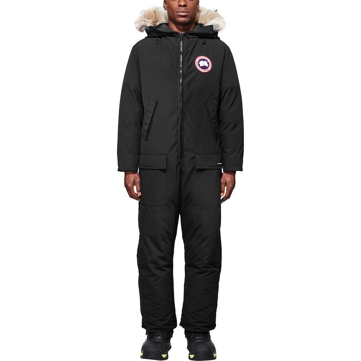 dd35dff7e87 Canada Goose - Black Arctic Rigger Insulated Coverall for Men - Lyst. View  fullscreen