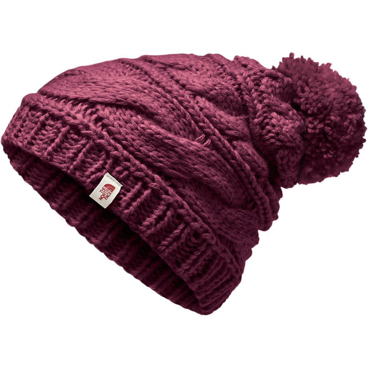 8e8a6e03199 Lyst - The North Face Triple Cable Pom Beanie in Purple for Men