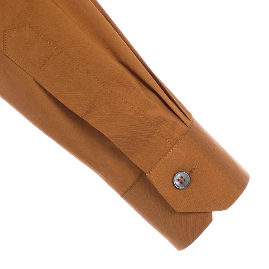 Lyst Paul Smith Mens Burnt Orange Cotton Cashmere Shirt In Orange