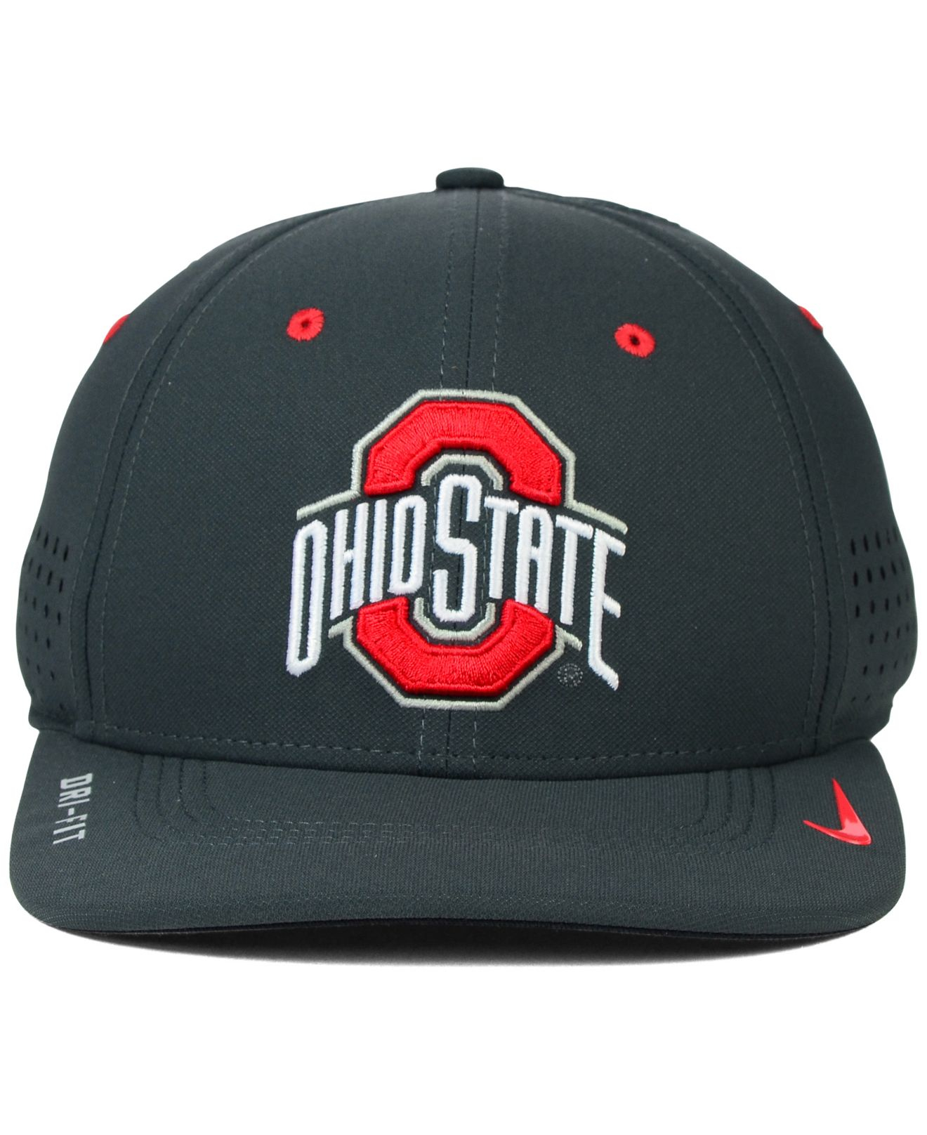 meet 42ee9 d3b0b ... switzerland lyst nike ohio state buckeyes sideline cap in gray for men  7c81c 8343b