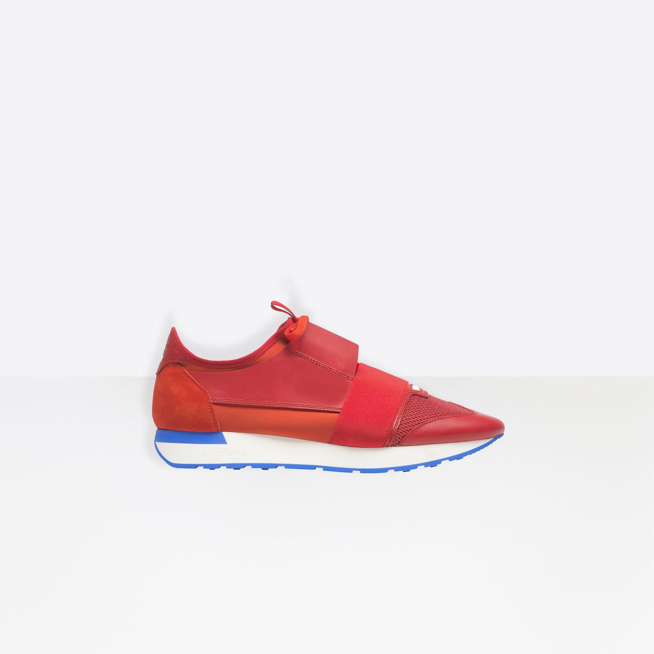 Race Runners - Red Balenciaga MnFVHM9TZc