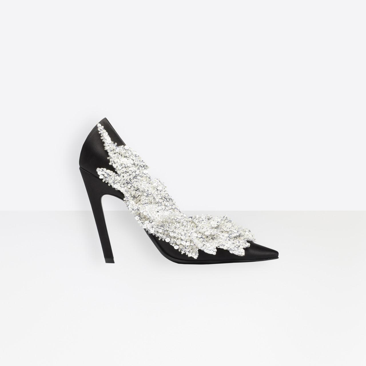 8f613c3e0c6 Lyst - Balenciaga Slash Heel Pumps in Black