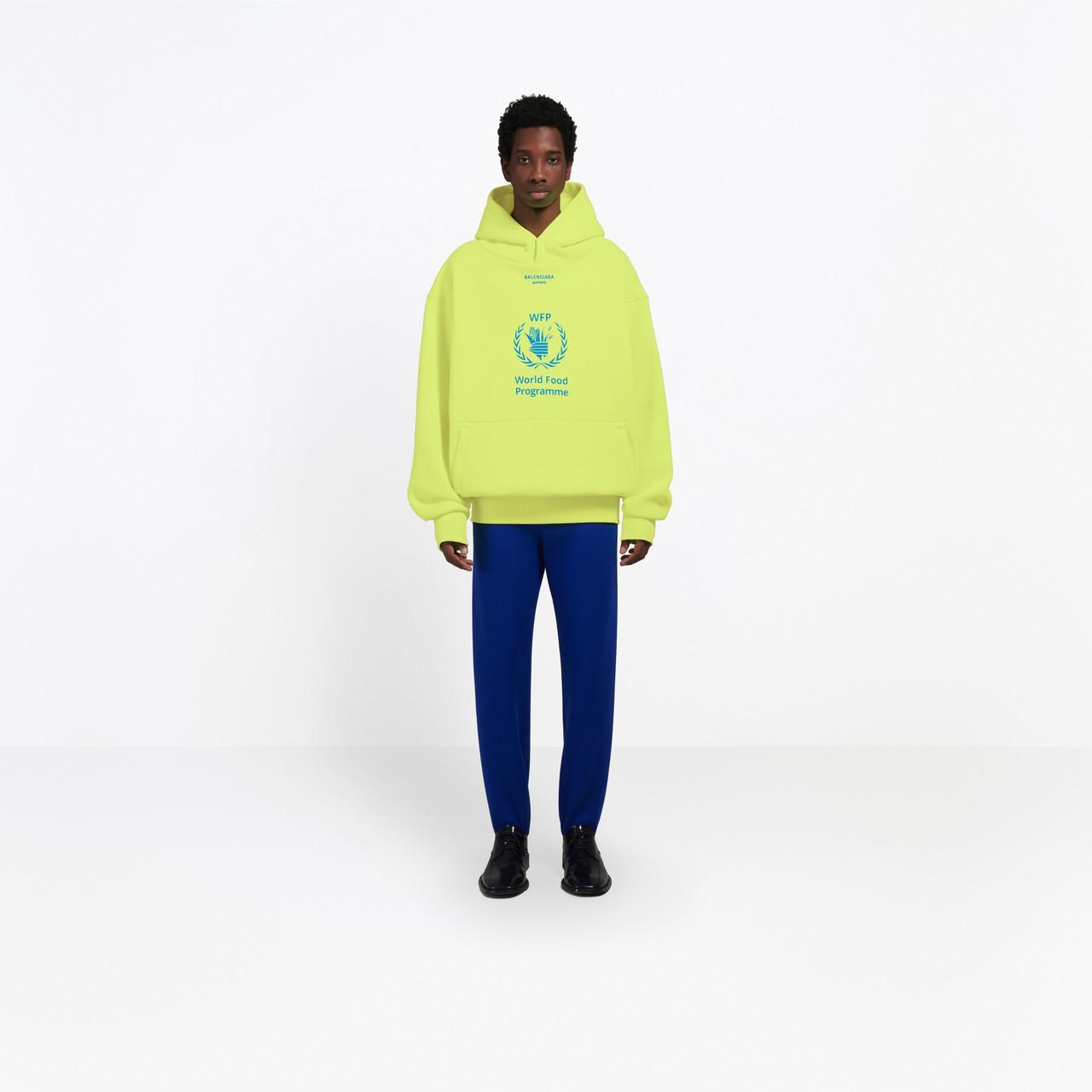 Lyst En Afficher Sweat Plein For Yellow Écran A Programme Balenciaga Men Capuche Food World gFPZvqx