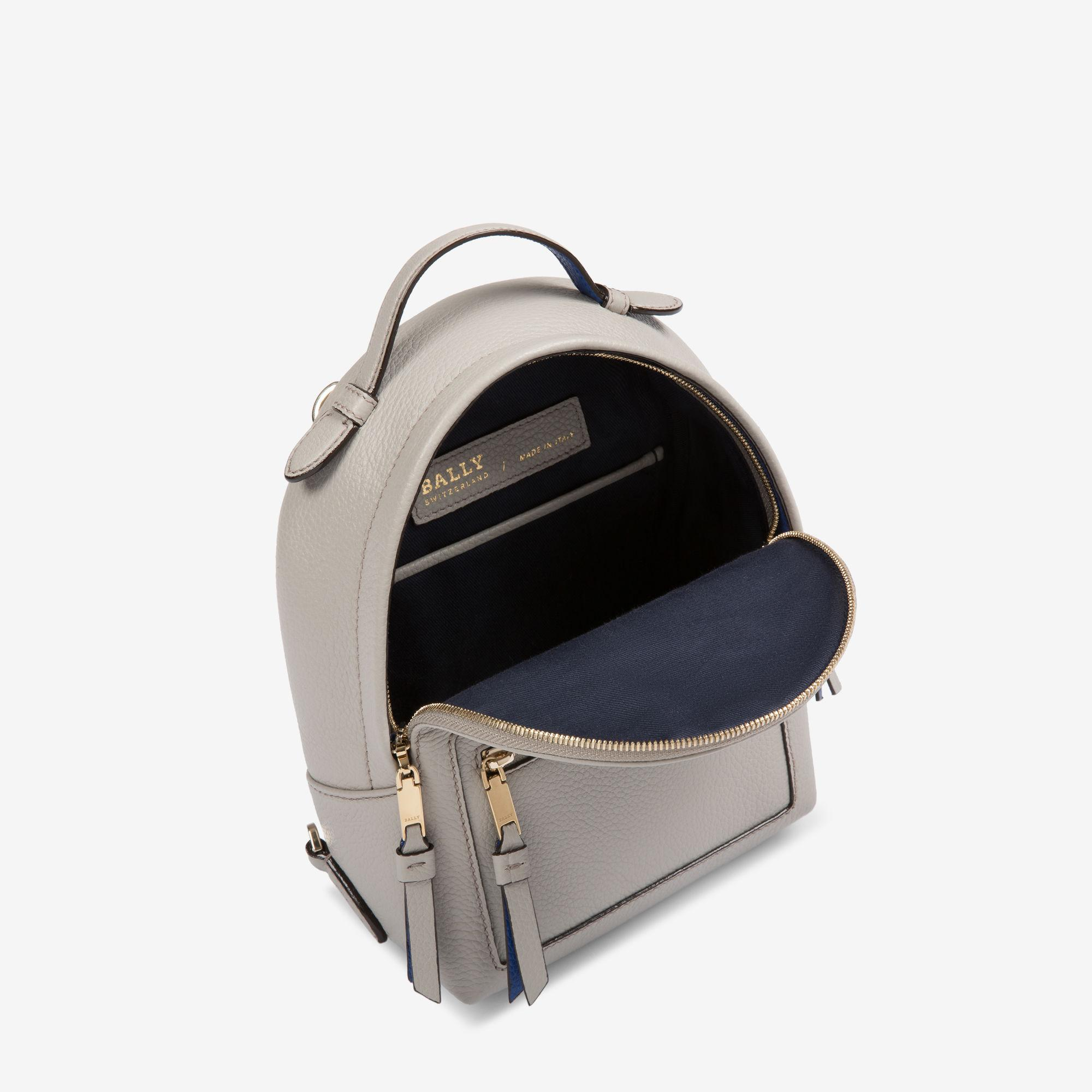 b4a908b3f4 Bally The Backpack Extra Small in Gray - Lyst