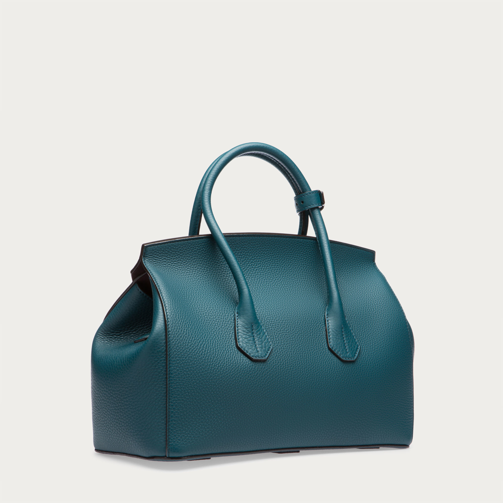 bally sommet medium s medium leather tote bag in