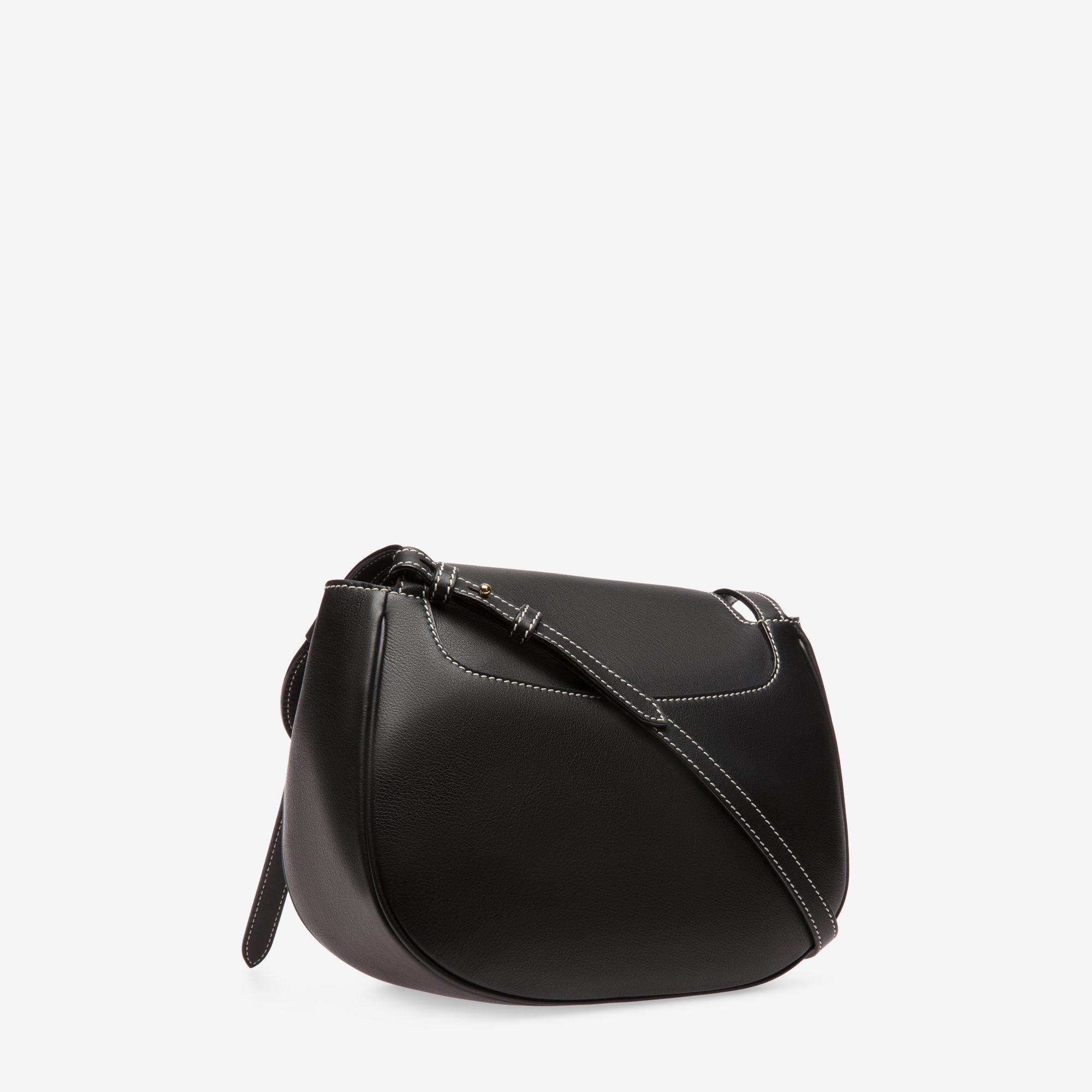 Bally - Black B Turn Saddle Bag Large - Lyst. View fullscreen e7d850fcd5