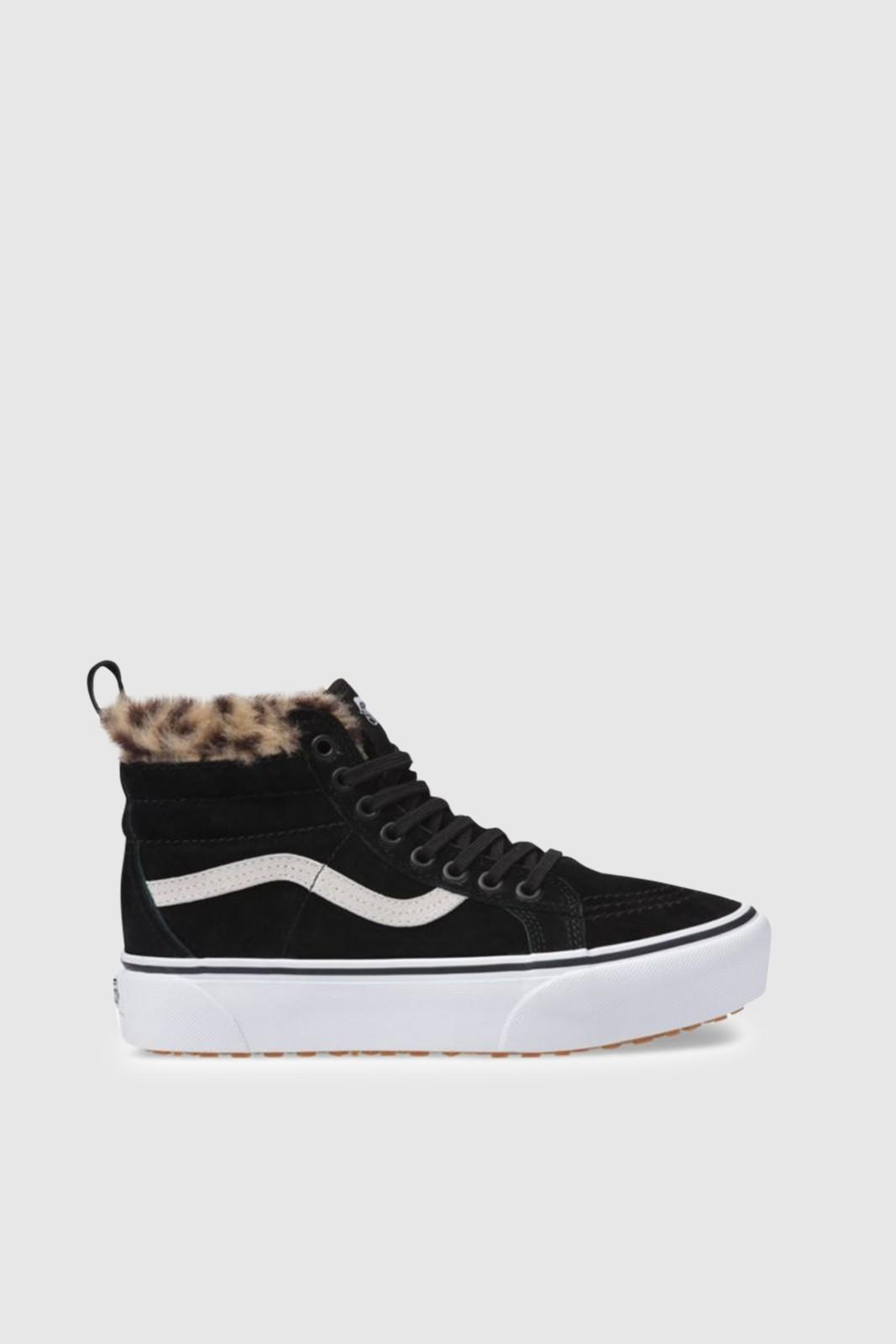 2f05972606 Vans Sk8-hi Platform Mte in Black - Save 39% - Lyst