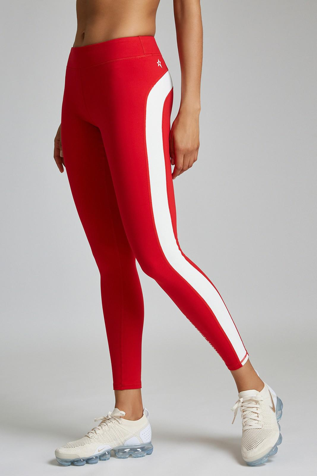 c55792bb9e62 Lyst - Perfect Moment Gt LEGGING in Red