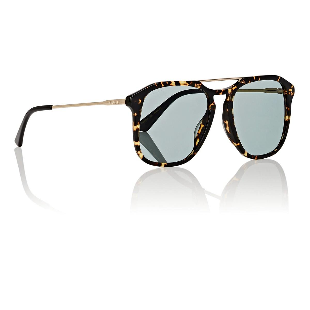 ab52bbc4168 Lyst - Gucci GG0321S Sunglasses in Brown for Men