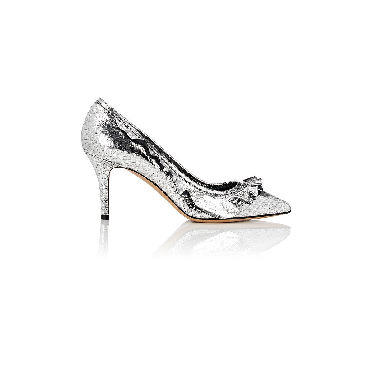 Isabel Marant Poween leather pumps QWlBS