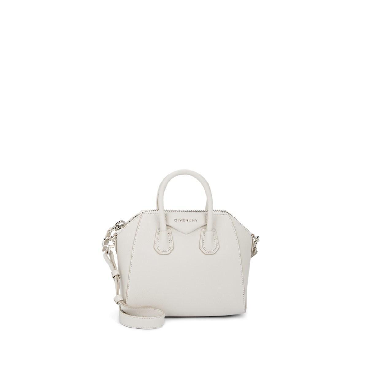 Givenchy - White Antigona Mini Leather Duffel Bag - Lyst. View fullscreen ba3fc085512a5