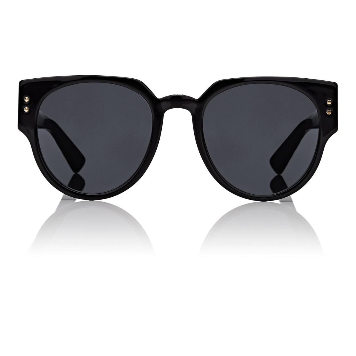 9013bfeef18 Lyst - Dior ladystuds3 Sunglasses in Black