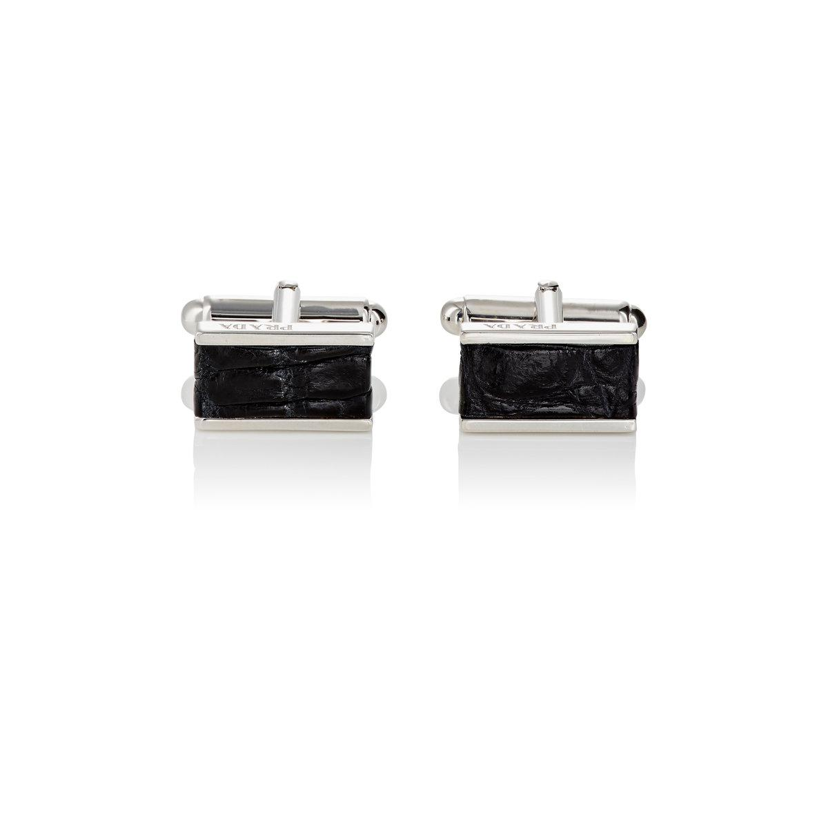 Prada Mens Rectangular Cufflinks kopWAZ