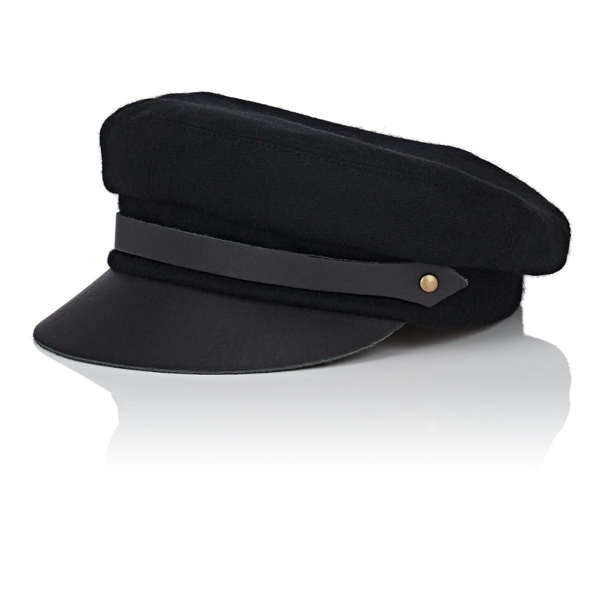 6540605c74ec2 Lola Hats Classic Chauffeur Hat in Black - Lyst
