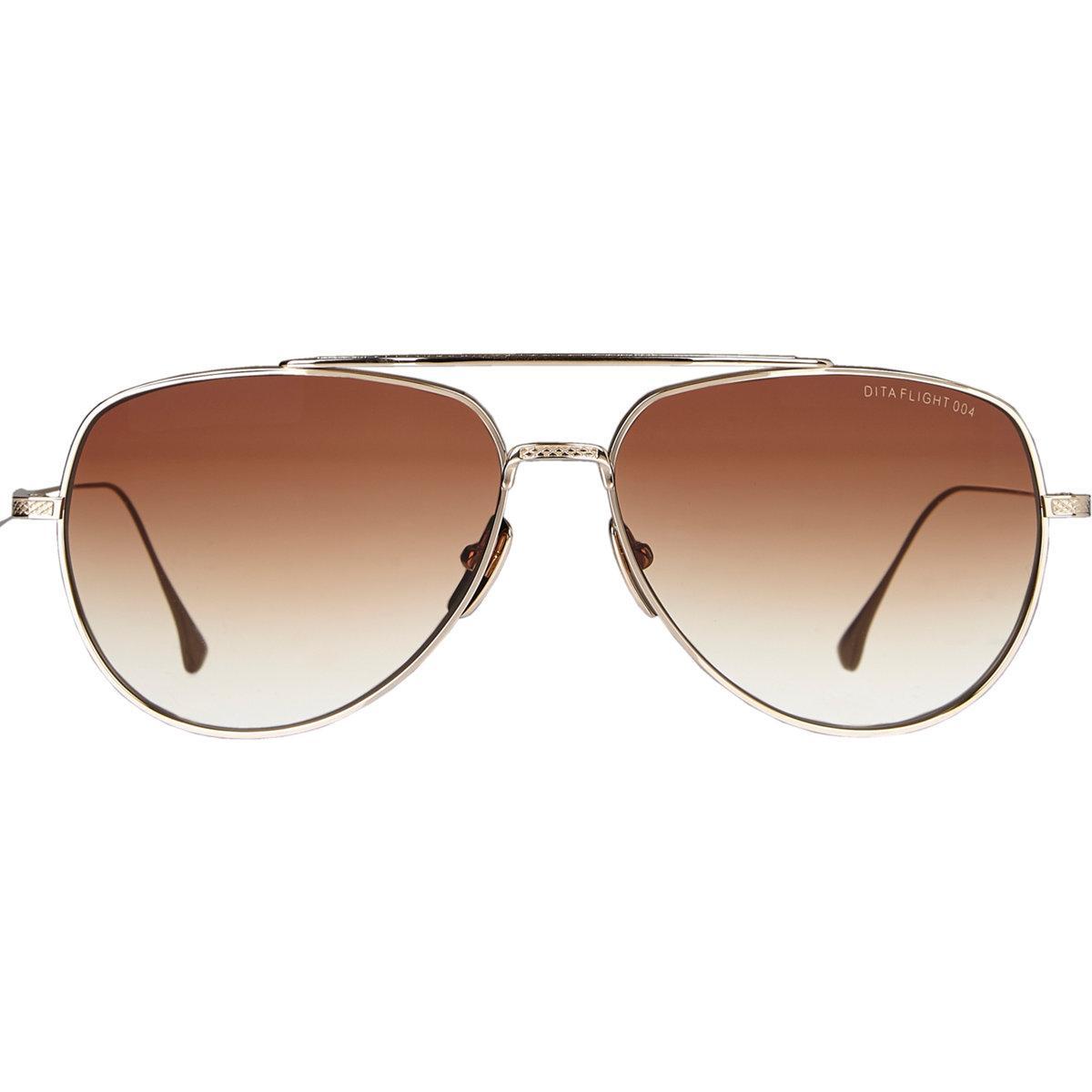 91613b828b0b Lyst - DITA Flight.004 Sunglasses in Metallic for Men