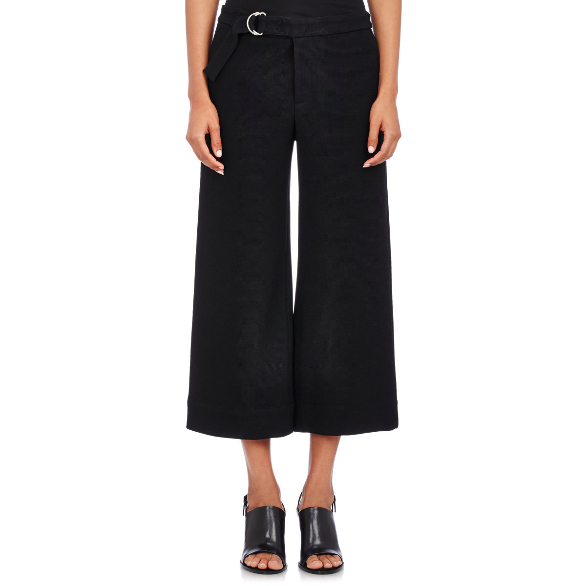 The Corduroy Etta Wide Leg Crop Jeans $ $ $ AYR The Blush Pants $ $ $ Mara Hoffman Nellie Alpaca Pants Canni Corduroy Slouchy Wide Leg Crop Pants $ $ $ Derek Lam 10 Crosby Cropped Flare Trousers $ $ $ Veronica Beard Cormac Trousers.