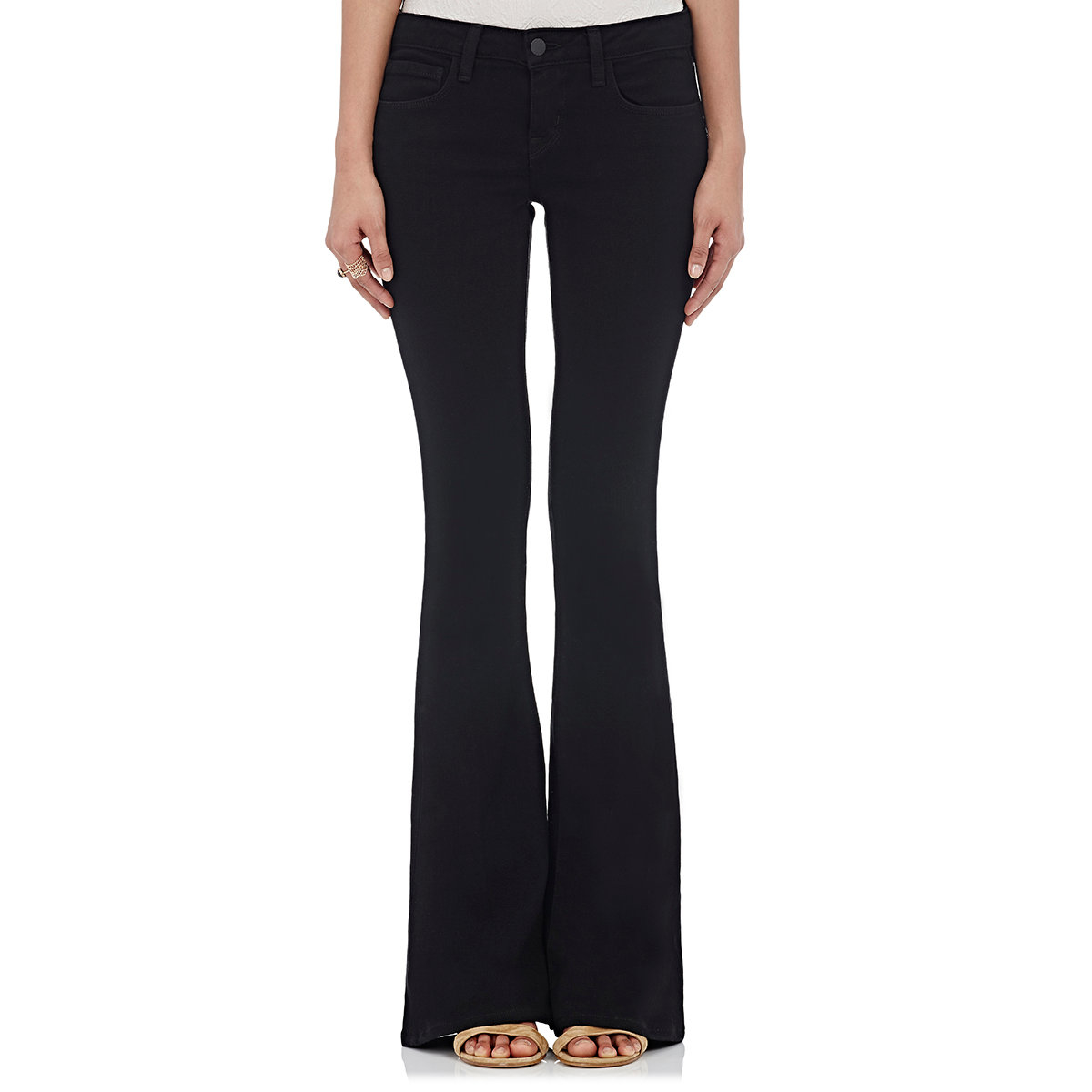 With the perfect amount of stretch, each pair is designed for a form-flattering fit that keeps you comfortable on even your busiest days. High rise jeans sit at your true waist to flatter your natural figure. Low rise jeans rest at the hip and offer a casual, torso-lengthening look. And mid-rise jeans are the perfect in-between.