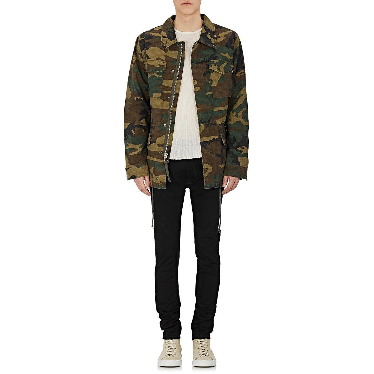 alpha industries embroidered camouflage cotton field. Black Bedroom Furniture Sets. Home Design Ideas