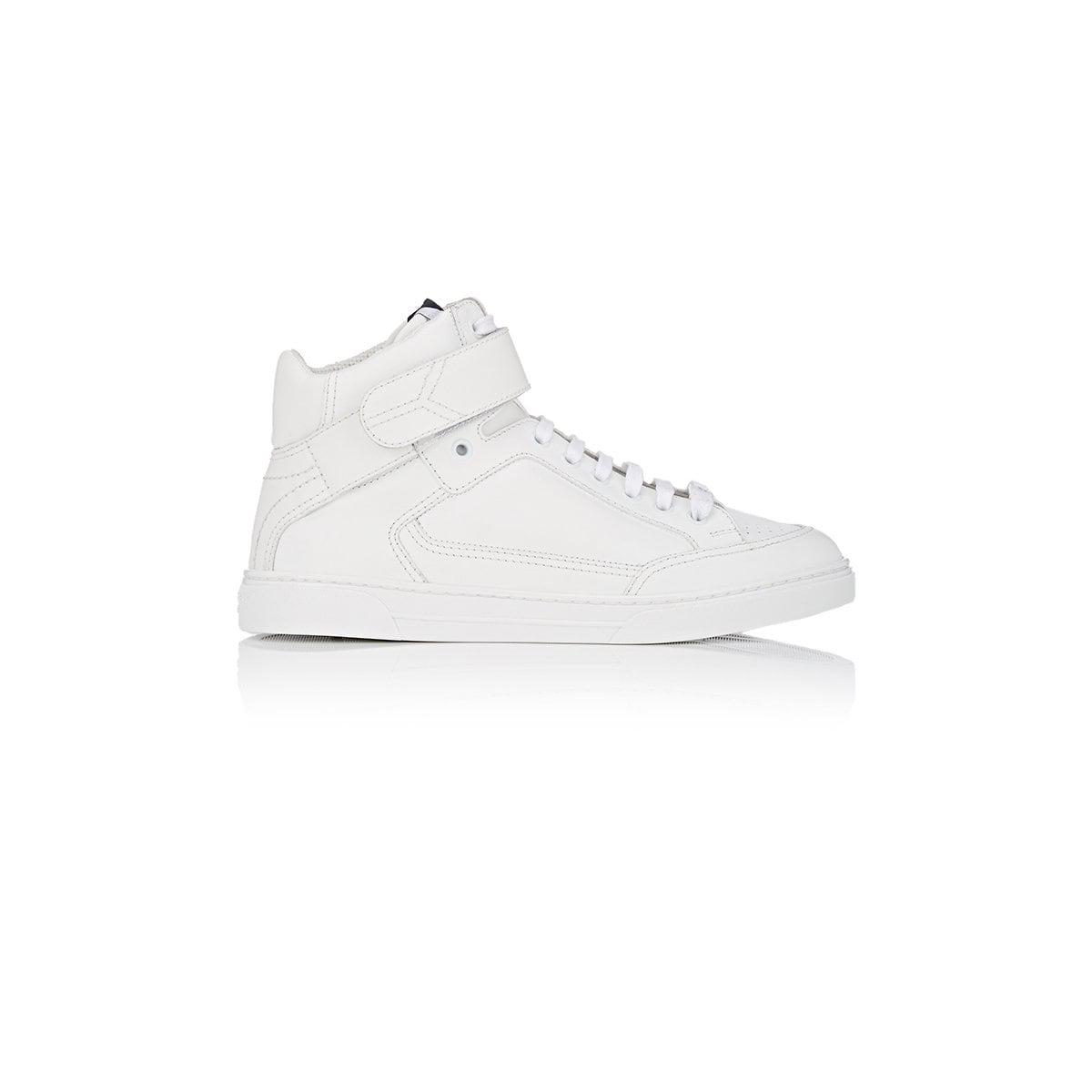 a5e0a9e7b67e3 Lyst - Saint Laurent Antibe Leather Sneakers in White
