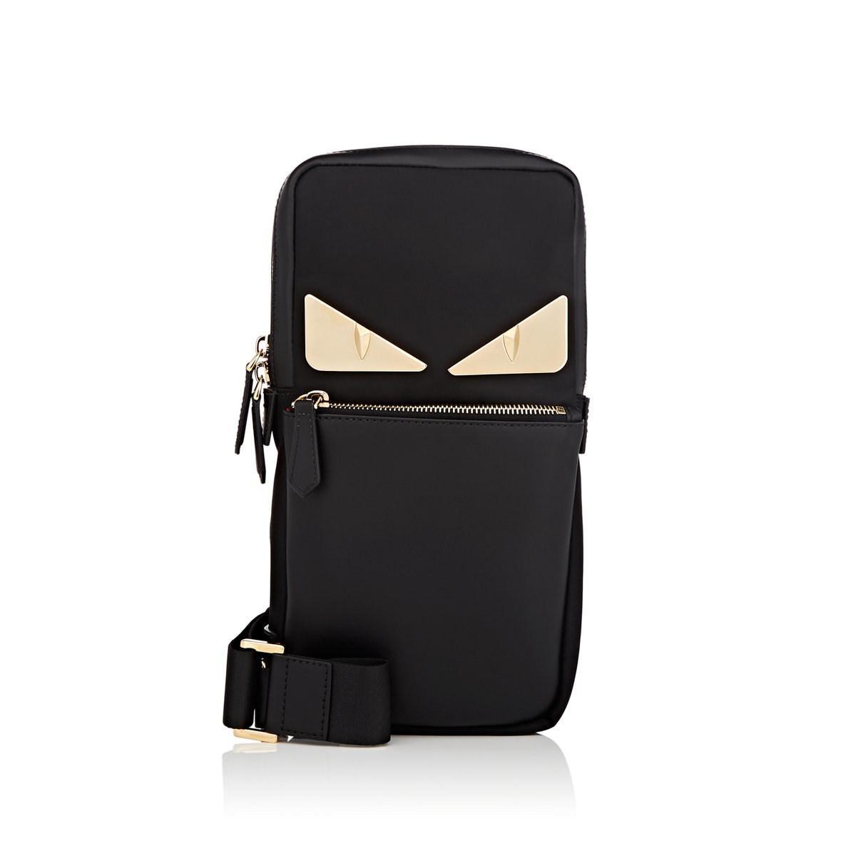 c981b38b35a3 Lyst - Fendi Bag Bugs Sling Messenger Bag in Black for Men