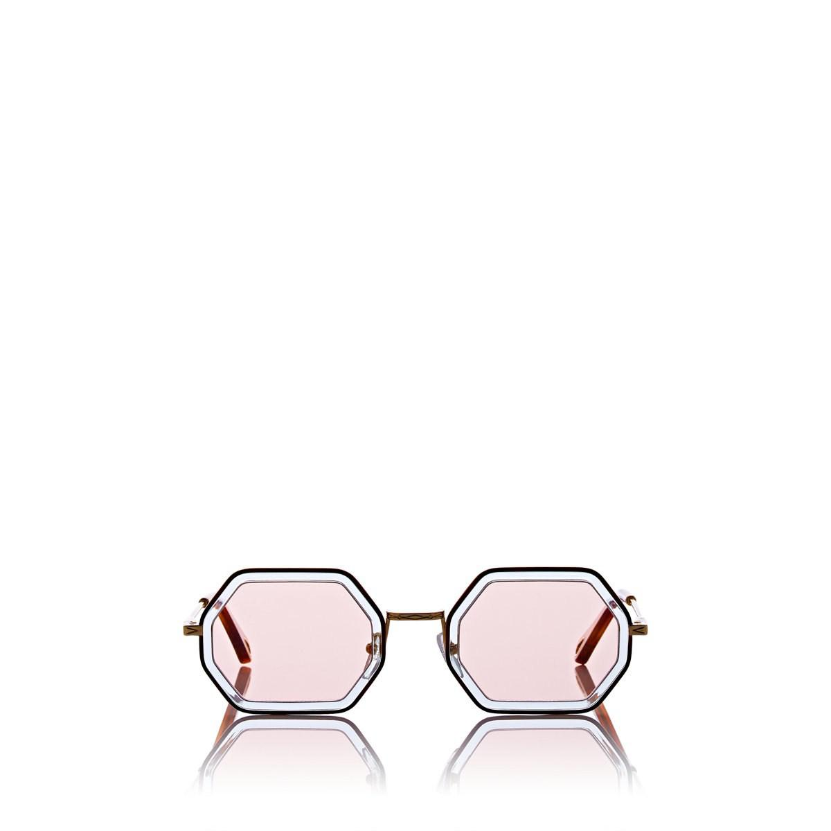 a23c2fa8b Lyst - Chloé Tally Small Sunglasses - 251 in Pink